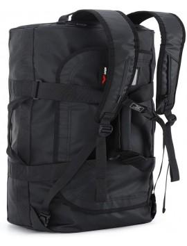 Water resistant tarpaulin backpack
