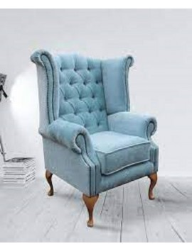 Royal wing chair Blue