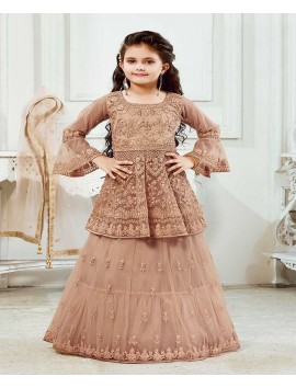 peach-designer-kids-wear-lehenga